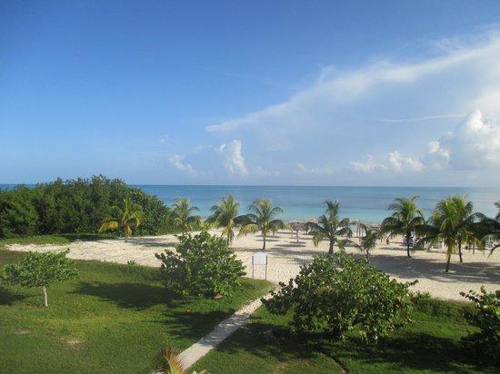 Hotel Playa Coco: Vue de notre chambre