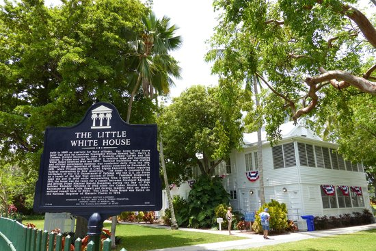 Harry S. Truman Little White House : Entrance