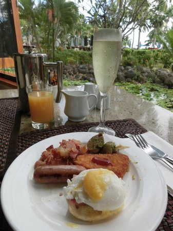 Sofitel Fiji Resort & Spa: 朝食