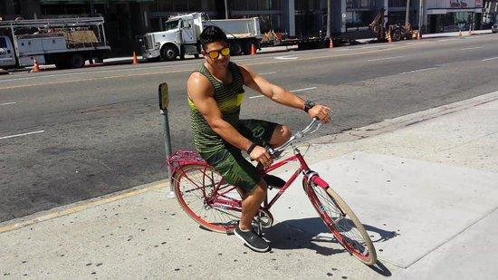 Kimpton Hotel Wilshire : bikes, LA