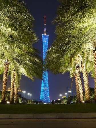 Canton Tower : ちょっと雰囲気を変えて