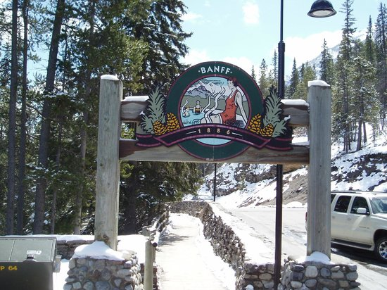 Banff Upper Hot Springs : Vintage