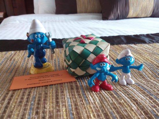 Empress Angkor Resort & Spa: Welcome Souvenir