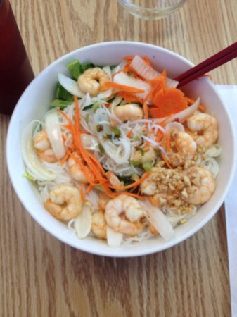 Pho Saigon: Shrimp vermicelli