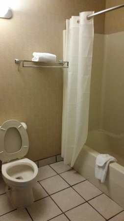 Comfort Inn & Suites: Bathroom