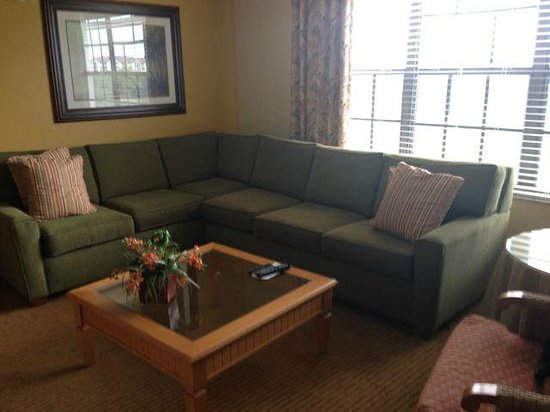 Holiday Inn Club Vacations Orlando - Orange Lake Resort: Living Area