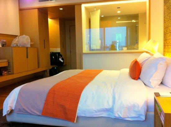 Pathumwan Princess Hotel: aquarium bath...