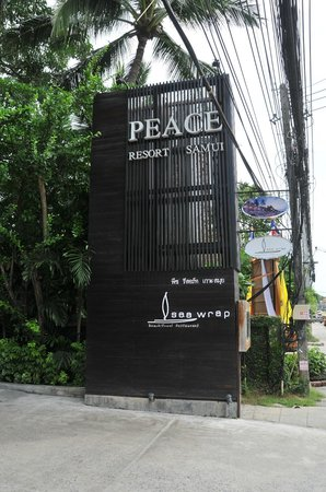 Peace Resort : Entrance