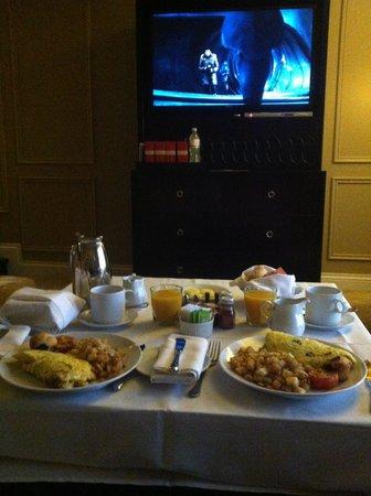The Venetian Las Vegas: awesome room service