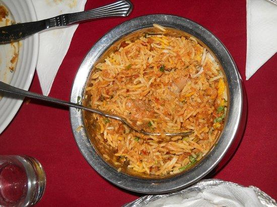 Jagat Niwas Palace : espectacular toda la comida