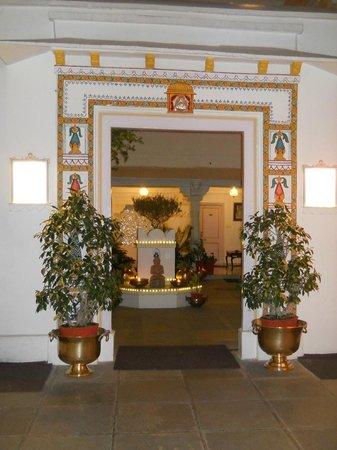 Jagat Niwas Palace : Hotel en el que se encuentra el restaurant