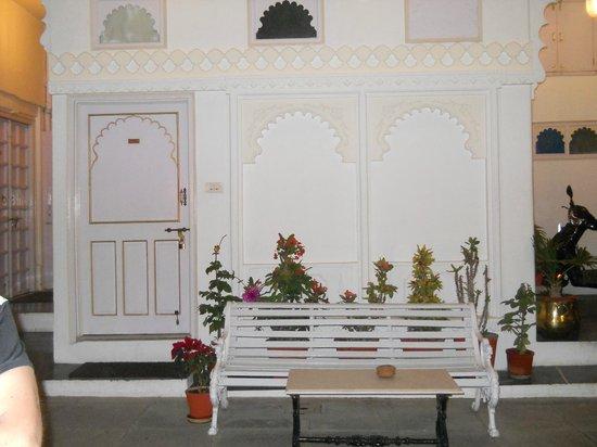 Jagat Niwas Palace : Hotel en el que está el restaurant