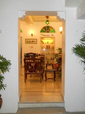 Jagat Niwas Palace : hotel en el que esta el restaurant