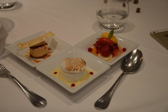 Le Gourmet de Sèze : One of the five dessert courses