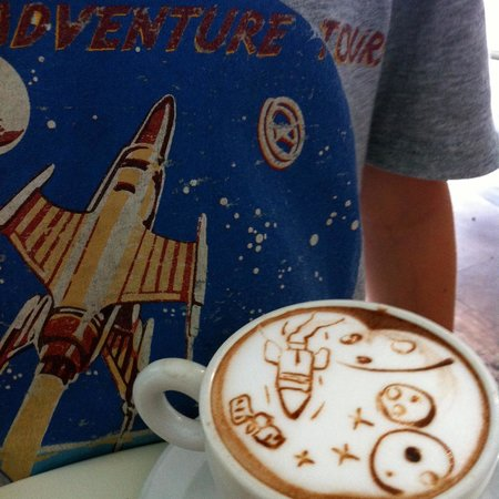 Butter Cake & Coffee Shop: Bespoke Hot Chocolate for my 8 year old boy!