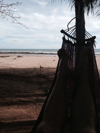 Chillaxing in a hammock at Lanta Coral Beach Resort
