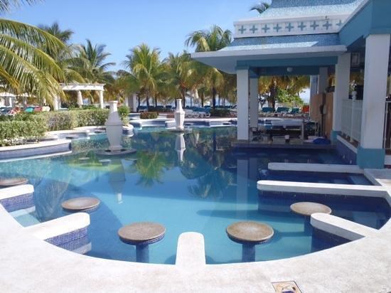 Hotel Riu Montego Bay: esto recien lo vi al irme del hotel porque la playa es hermosa