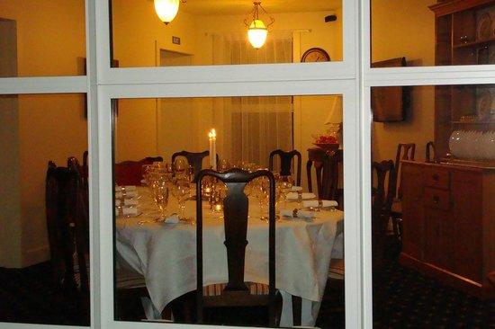 Ratanui Lodge: Private Dining Room