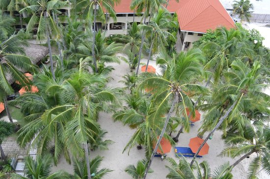 Costabella Tropical Beach Hotel: Вид сверху
