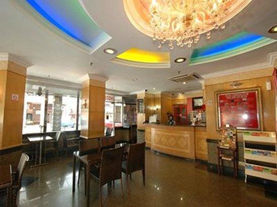 LEO Palace 1 Hotel: Reception Lobby