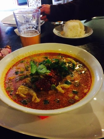 Woody's Thai Kitchen: Spicy Noodles