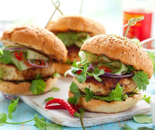 CAN FLOW : Ecologic Chiken Burger