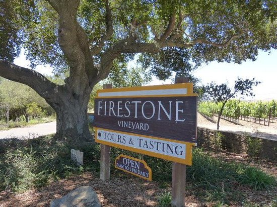Firestone Vineyard: Vineyard Sign