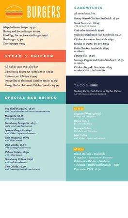Seafood & Spaghetti Works: Online menu