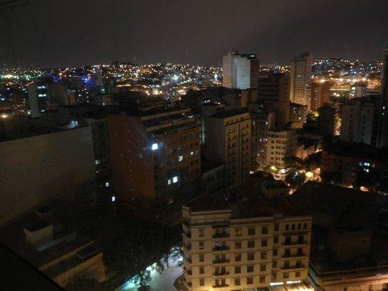 Bristol Merit Hotel: A bela Belo Horizonte a noite