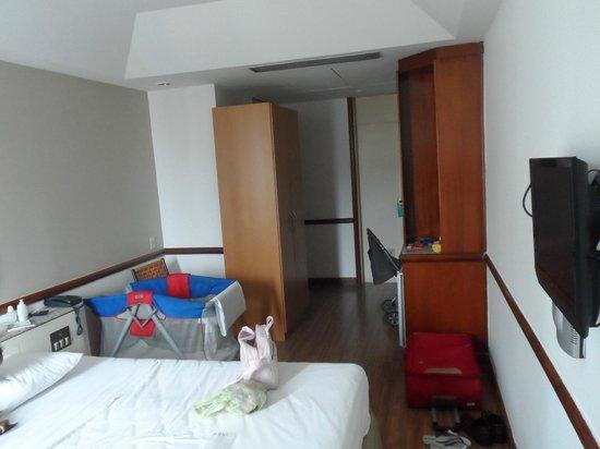 Bristol Merit Hotel: Visao geral do quarto