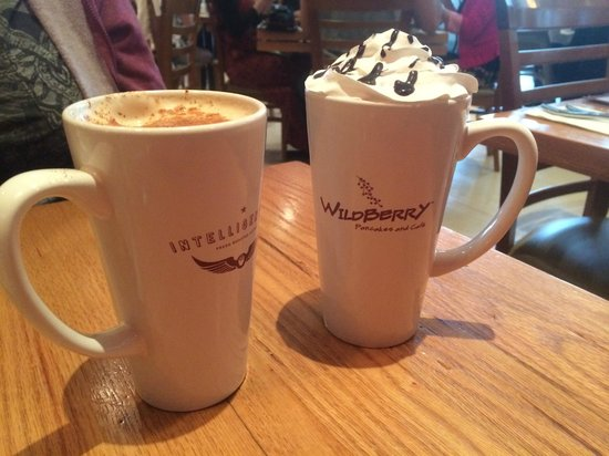 Wildberry Pancakes and Cafe : Any kind of expresso drink!