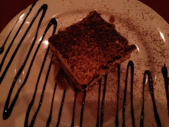 Bootlegger Bistro : We lingered over the music and tiramisu