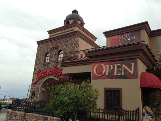 Bootlegger Bistro : Just south of the airport and outlets on S. Las Vegas Blvd.