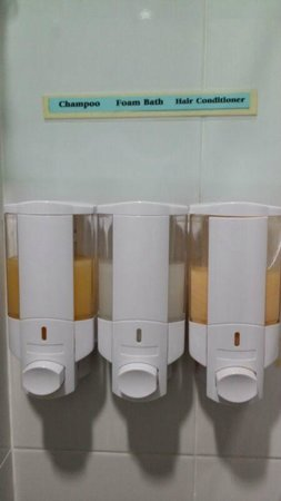 Aonang Silver Orchid Resort: Complimentary toiletries