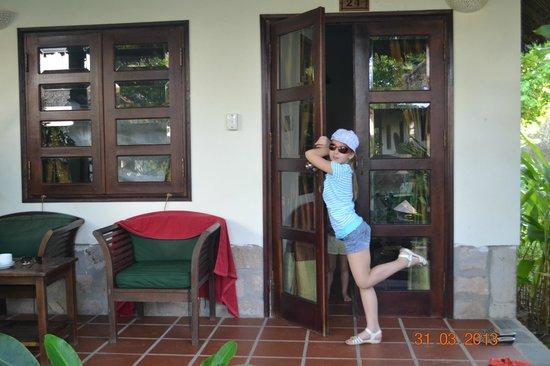 Mai House Resort : Вход в бунгало