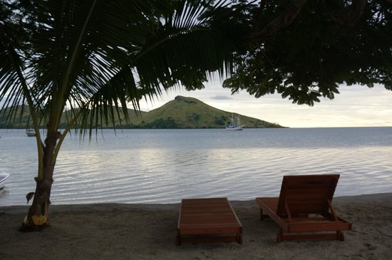 Volivoli Beach Resort Fiji : view