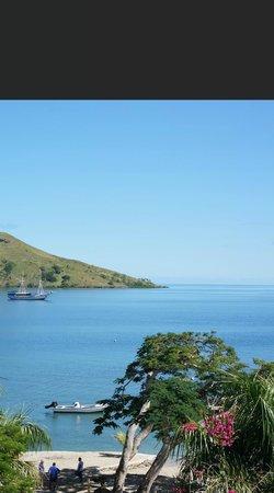 Volivoli Beach Resort Fiji : view