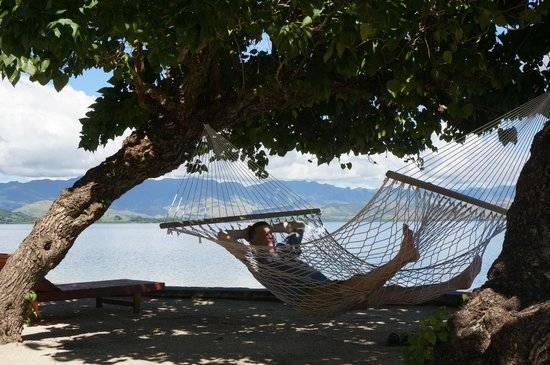 Volivoli Beach Resort Fiji: hammock