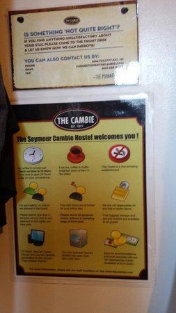 Cambie Hostel - Seymour: Info