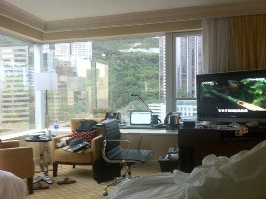 JW Marriott Hotel Hong Kong: Mountain View Room
