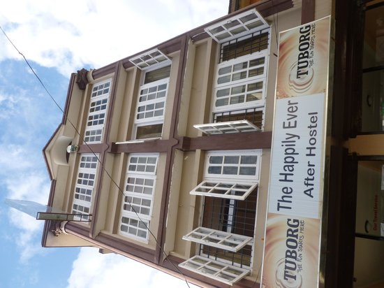 The Happily Ever After Hostel: Hostel building