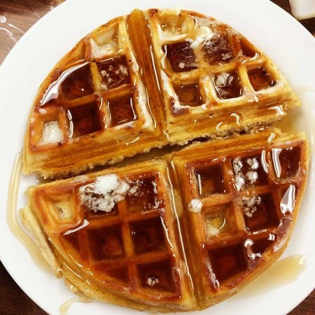 Early Bird Diner : The Waffles are unreal!!