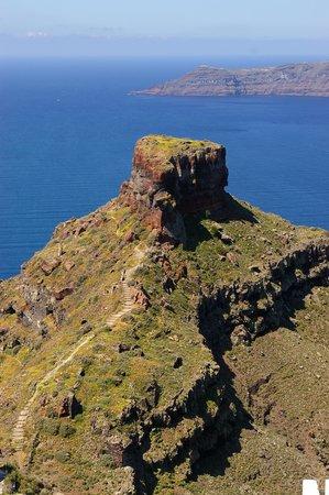 Skaros Rock: Great hike