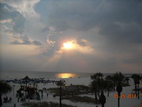 Sirata Beach Resort: Sunset over Sirata