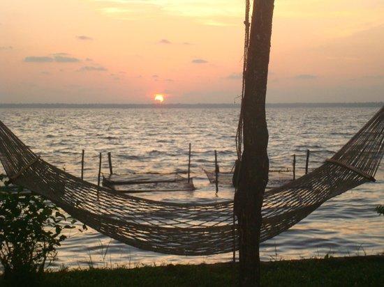 Coconut Lagoon: the sunset