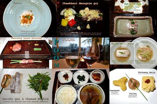 Poom Seoul : our multi-couse dinner