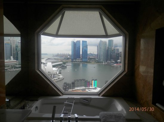 The Ritz-Carlton, Millenia Singapore: Awesome views from the room..