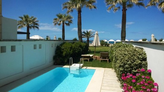 Grecotel Creta Palace Hotel: beach villa with own pool