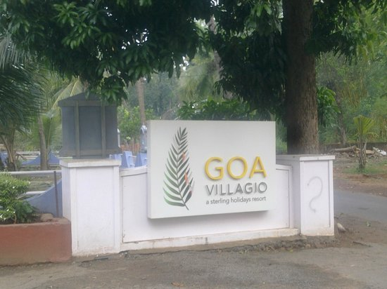 Goa - Villagio, A Sterling Holidays Resort: Goa Villagio entrance