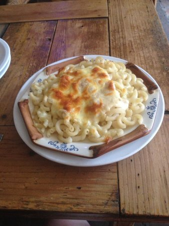 Cafe Mimosa: Macaroni with cheese